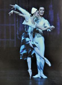 Maria Klueva (Cinderella) and Azamat Askarov (The Prince). Photo courtesy of Hylton Performing Arts Center.