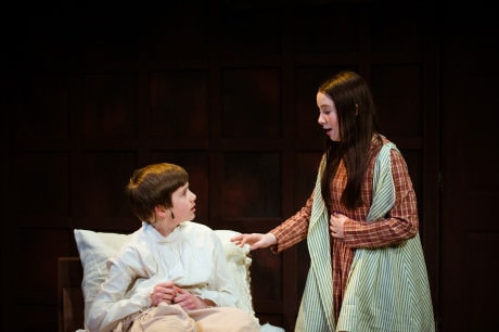 Ethan Van Slyke and Maggie Slivka in 'The Secret Garden.' Photo by Traci J. Brooks Studios.