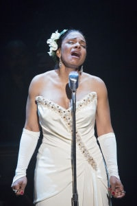 """Audra McDonald in """"Lady Day at Emerson's Bar and Grill.' Photo by Sara Krulwich/The New York Times."""