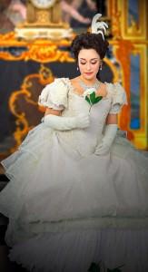 Cecilia Violetta López as Violetta. Photo credit Lucid Frame Productions.