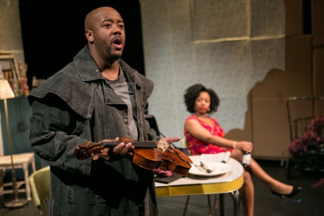Vernon Addams (Jorell Williams) and Arnita Seward (Alicia Olatuja). Photo by C. Stanley Photography.