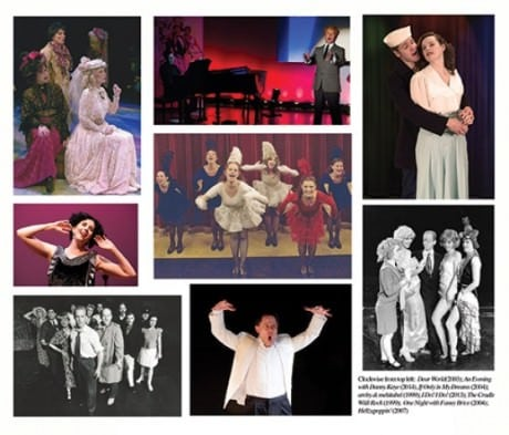 Welcoming back performers from the original productions of Dear World (Jacqueline Manger & Ilona Dulaski); Danny & Sylvia and An Evening with Danny Kaye (Brian Childers); If Only In My Dreams (Patricia Carpenter); The Cradle Will Rock (Jacqueline Manger and Buzz Mauro); ; archy & mehitabel (John Tremain May); I Do! I Do! (Steve Lebens and Esther Covington); An Evening with Fanny Brice (Esther Covington); and Lady in the Dark (Maureen Kerrigan & Buzz Mauro).