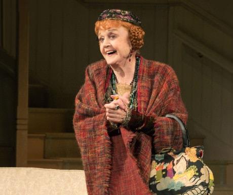 Angela Lansbury as Madame Arcati. Photo by Joan Marcus.