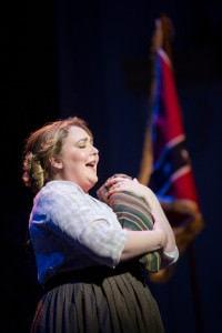 Tracy Lynn Olivera as a nurse. Photo by Scott Suchman.