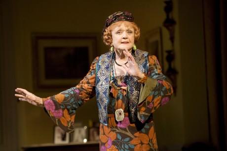 "Angela Lansbury as Madame Arcati in the 2009 Broadway revival of Noel Coward's ""Blithe Spirit."" Photo by Robert J. Saferstein."