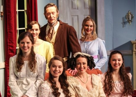 The Bennet family. Photo courtesy of Aldersgate Church Community Theater.