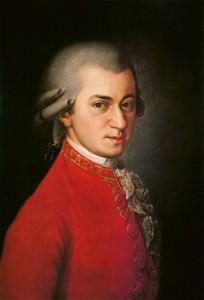 Wolfgang Amadeus Mozart. Painting by Barbara Krafft [Public domain], via Wikimedia Commons.
