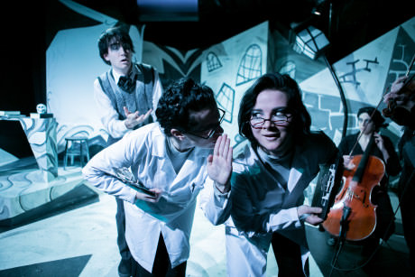 From Left to Right: Frank Cevarich as Francis, Lee Gerstenhaber, Madeline Key, Madeline Waters. Photo by C. Stanley Photography.