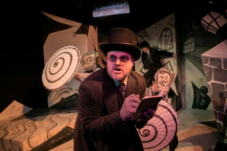 Lex Davis as Doctor Caligari. Photo by C. Stanley Photography.