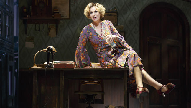 Jane Lynch in 'Annie'. Photo by Joan Marcus.