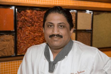 Executive Chef Vikram Sunderam. Photo by Greg Powers.