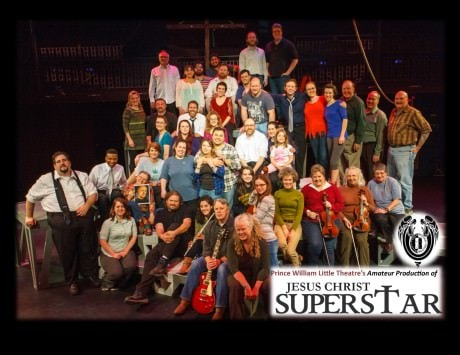 The cast of 'Jesus Christ Superstar.' Photo by Davod Harback.