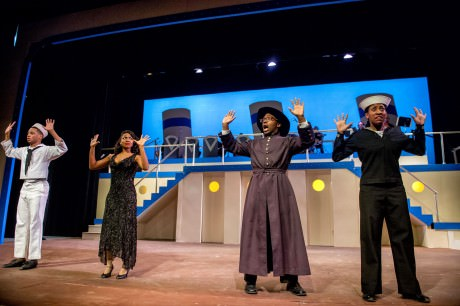 The cast of 'Anything Goes.' Photo by Justin D. Knight.