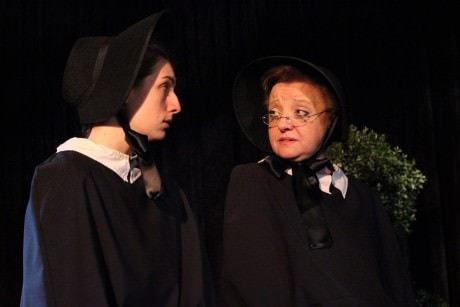 Anna Fagan and Lisa Anne Bailey. Photo courtesy of City of Fairfax Theatre Company.
