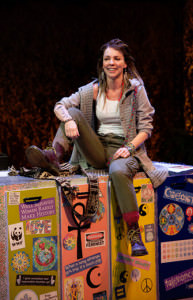 Sarah Litzsinger (Emily). iPhoto by Margot Schulman.