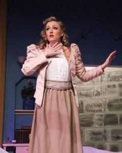Maureen R. Goldman as Angie Wheeler. Photo by Matt Liptak.