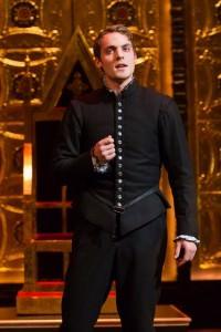 Paul-Emile Cendron (Mortimer) in Folger Theatre's 'Mary Stuart.' Photo by Teresa Wood.