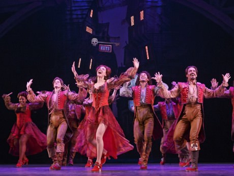 The cast of 'Something Rotten!' Photo by Joan Marcus.