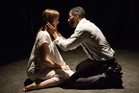 Sara Barker and David Lamont Wilson. Photo by Teresa Wood.