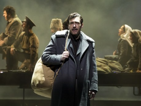 Tam Mutu as Zhivago in 'Doctor Zhivago.' Photo by Matthew Murphy.