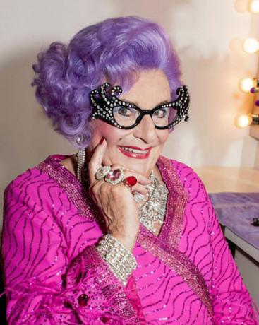 Dame Edna. Photo by Craig Schwartz.