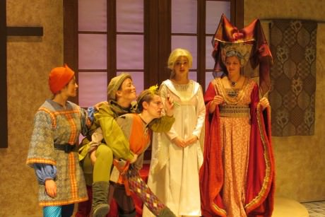 Cast of 'The Lady's Not For Burning.' Photo courtesy of Lumina Studio Theatre.
