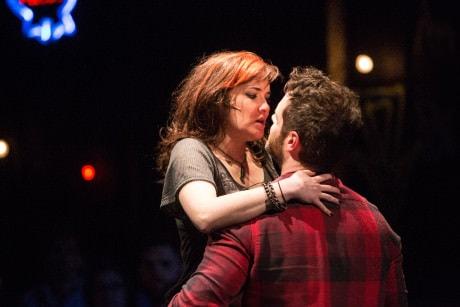 Christine Dwyer (Sara) and Cole Burden (Tom). Photo by Igor Dmitry.