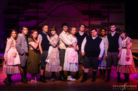 The Company of 'Spring Awakening.' Photo by Bruce F. Press Photography.