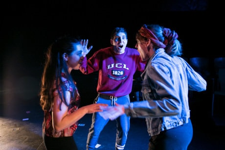 (L-R): Annalisa Dias, DeLesslin George-Warren, and Rachel Hynes. Photo by C. Stanley Photography.