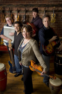 The Eileen Ivers Band. Photo courtesy of Wolf Trap.