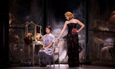 Leanne Cope (Lise) and Jill Paice (Milo) in 'An American in Paris. Photo by Angela Sterling.
