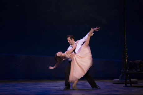 Leanne Cope and Robert Fairchild in 'An American in Paris.' Photo by Angela Sterling.