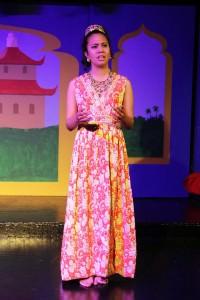 Arielle Pizana (Tuptim). hoto courtesy of Washington County Playhouse.