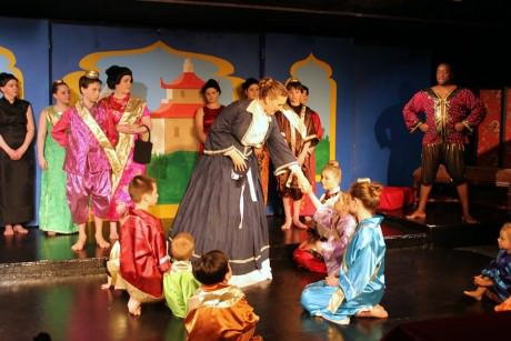 """The Full Company of 'The King and I."""" Photo courtesy of Washington County Playhouse."""