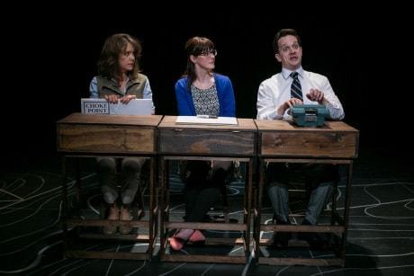 Jenna Sokolowski, Katie Nigsch, and Daniel Corey. Photo by C. Stanley Photography.