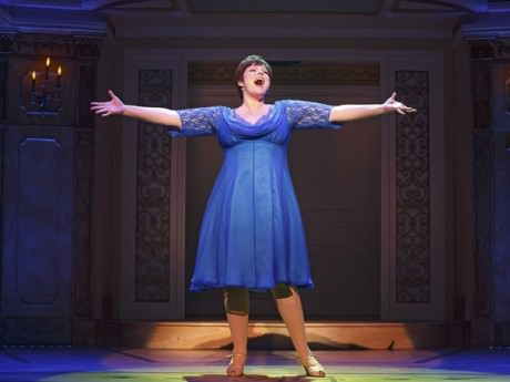 Lisa Howard (Jenny) in 'It Shoulda Been You.' Photo by Joan Marcus.
