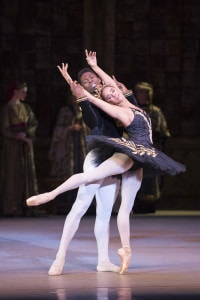 The Washington Ballet's 'Swan Lake' with Misty Copeland and Brooklyn Mack. Photo by media4artists l Theo Kossenas.
