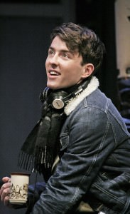 Matthew Beard (Edward). Photo by John Haynes.