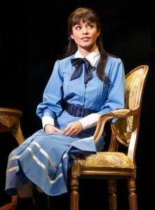 Vanessa Hudgens as Gigi in Gigi. Photo by Joan Marcus