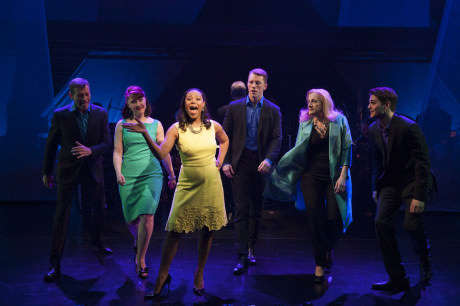 The cast of Simply Sondheim at Signature Theatre. Photo by Margot Schulman.