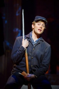 Gregory Maheu as Union Private. Photo by Scott Suchman.