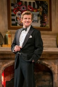 Charles Edwards in 'Blithe Spirit.' Photo by Joan Marcus.