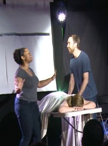 Janel Dillard and James Nachbaur in 'Stop Doing It.'