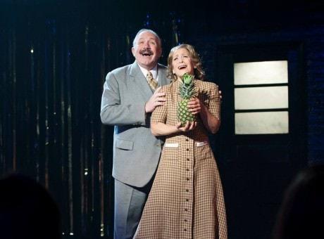 Rick Foucheux (Herr Schultz) and Naomi Jacobson (Fraulein Schneider). Photo by Margot Schulman.