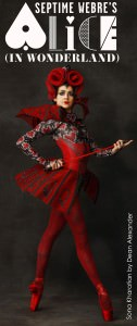 Sona Kharatian as the Queen of Hearts. Photo by Dean Alexander.