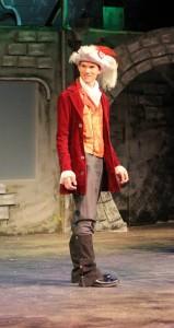 Matthew Cook as the Marquis de Carrabas. Photo by Dianne Janczewski