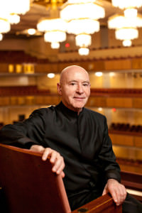Maestro Christoph Eschenbach.Photo courtesy of The Kennedy Center.