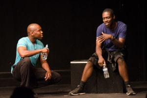 From left: Jivon Lee Jackson and Jeremy Keith Hunger. Photo by Victoria Ford.