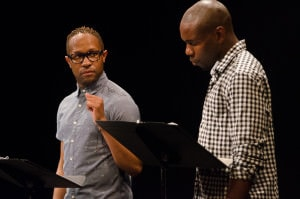 From left: Stanley Freeman, and Jivon Lee Jackson. Photo by Victoria Ford.