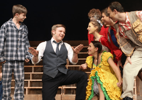 Alex Stone, Lead Actor in a Musical, leads McLean High School's rendition of Best Song